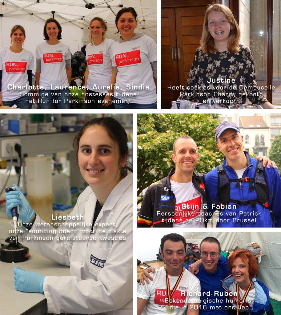 Vrijwilligers run for Parkinson