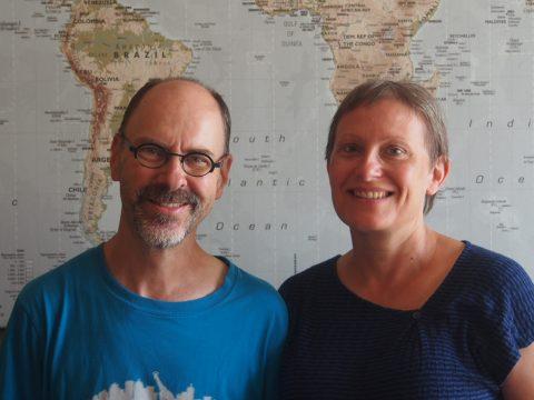 Piet De Vocht en zijn vrouw Marleen