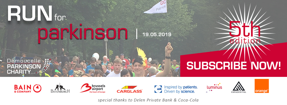 Run for Parkinson 2019 subscribe